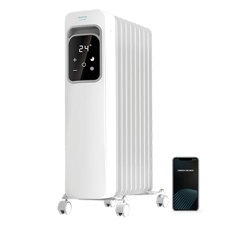ReadyWarm 9000 Touch Connected - Radiador de aceite de 9 elementos