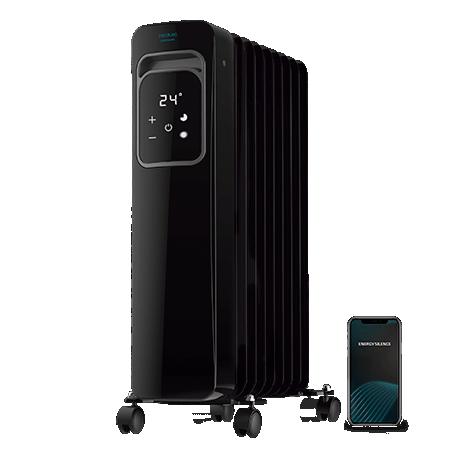 ReadyWarm 9000 Touch Connected Black - Radiador de aceite de 9 elementos