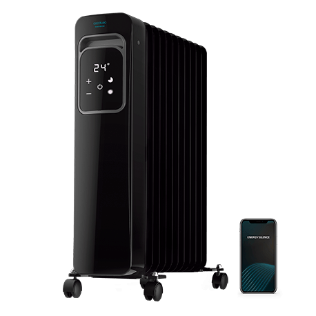 ReadyWarm 11000 Touch Connected Black - Radiador de aceite 11 elementos