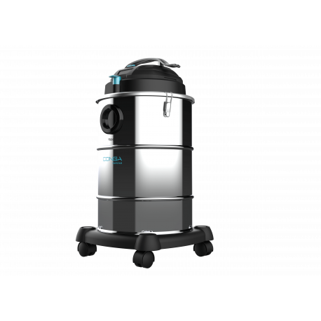 Conga PopStar 15300 Ash Steel - Aspirador cenizas pellets