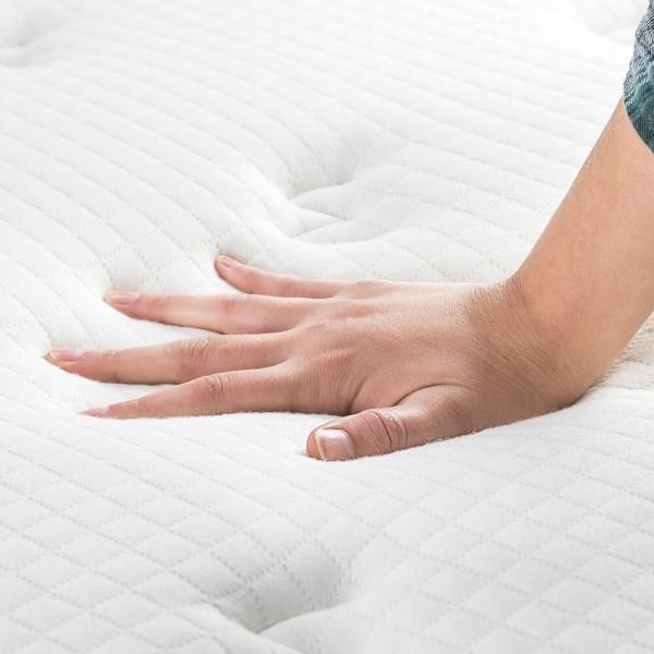 matelas premium viscogel ressorts ensach s. Black Bedroom Furniture Sets. Home Design Ideas