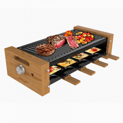 Cheese&Grill 8200 Wood Black