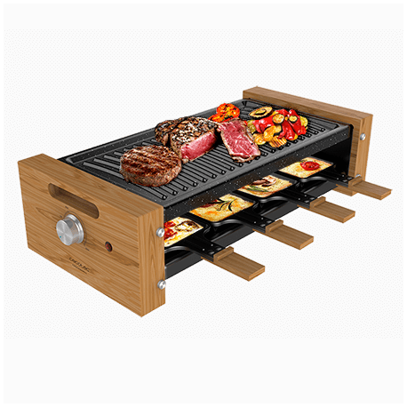 Cheese&Grill 8200 Wood Black -