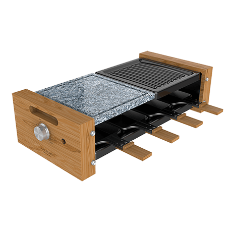 Cheese&Grill 8400 Wood MixGrill - Raclette para queso