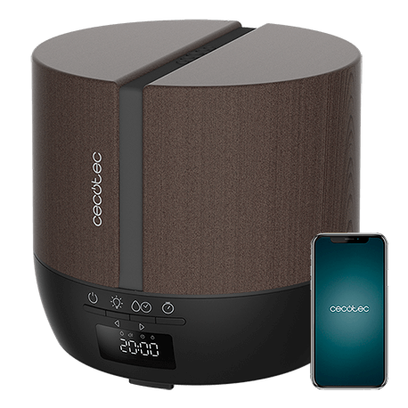 PureAroma 550 Connected Black Woody -