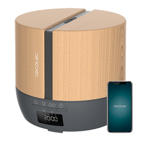 PureAroma 550 Connected Grey Woody -