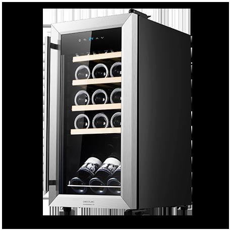 GrandSommelier 15000 Inox Compressor - Wine cooler