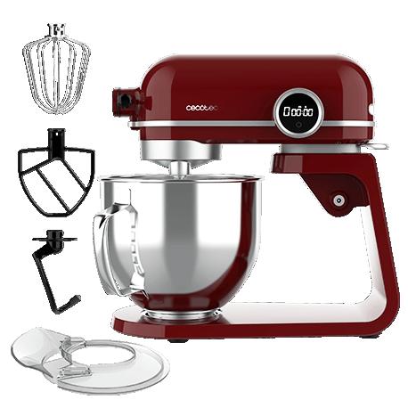 Twist&Fusion 4500 Luxury Red - Robot pétrisseur