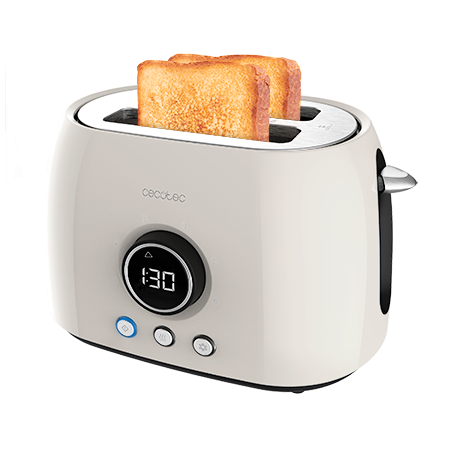 ClassicToast 8000 Beige Double - Tostador vertical digital