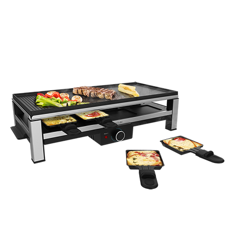Cheese&Grill 12000 Inox Black - Raclette