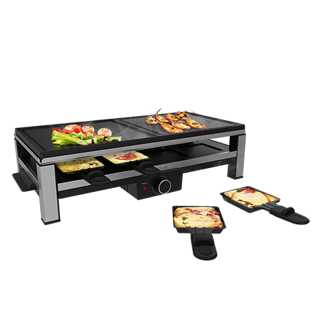 Cheese&Grill 12000 Inox MixGrill - Raclette