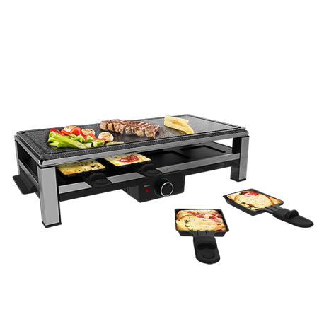 Cheese&Grill 12000 Inox AllStone - Raclette