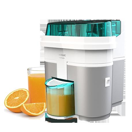 EssentialVita Twice White - Exprimidor de naranjas eléctrico