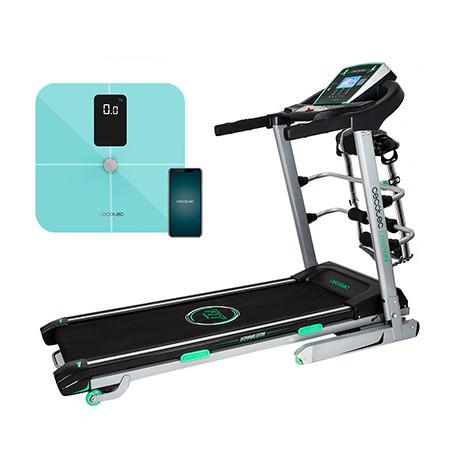 Pack ExtremeTrack Vibrator + Surface Precision 10400 Smart Healthy Vision Blue - Pack cinta de correr + Báscula de baño