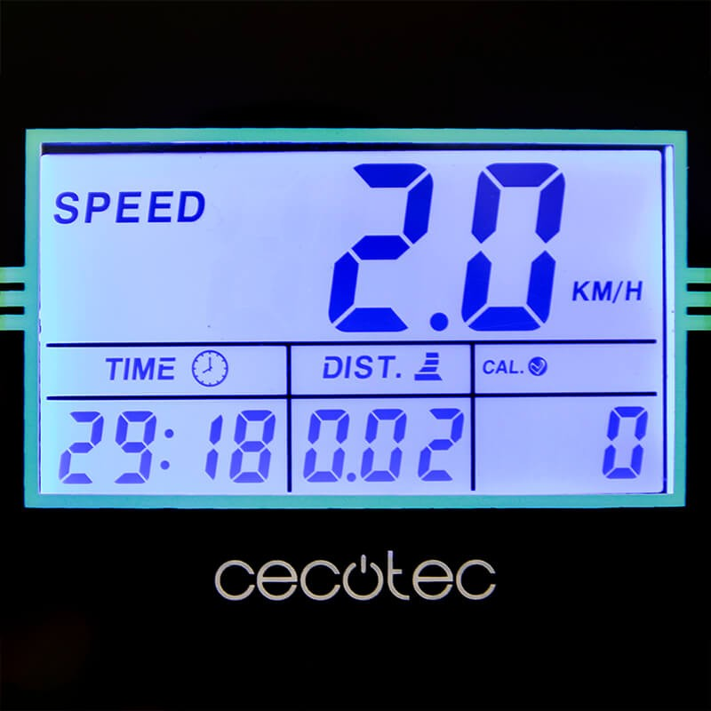 2 Años Garantia PRO Cinta de Correr CECOTEC RunFIt Sprint vibrator