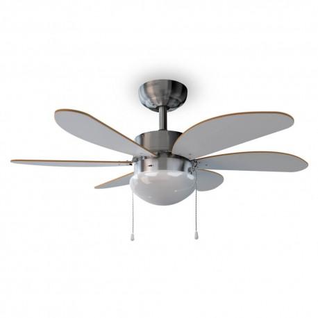ForceSilence Aero 350 - Ventilatore da soffitto con luce