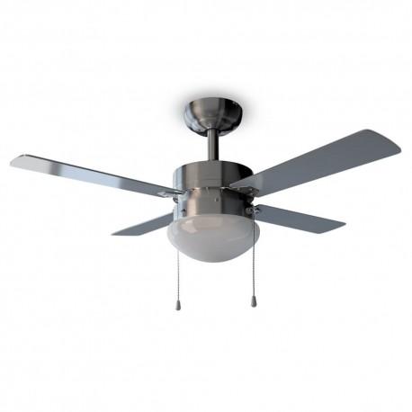 EnergySilence Aero 450 - Ventilador de techo con luz