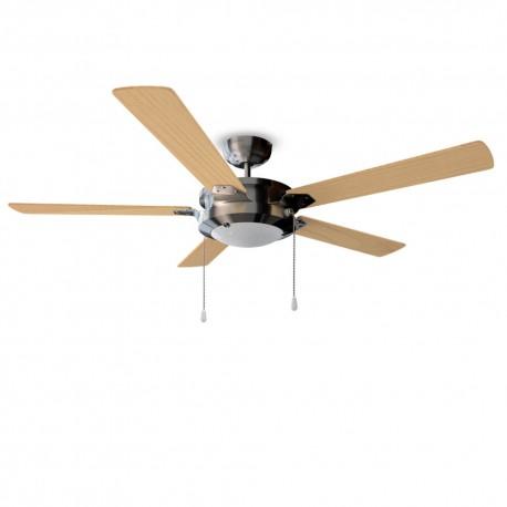 EnergySilence Aero 540 - Ventilador de techo con luz