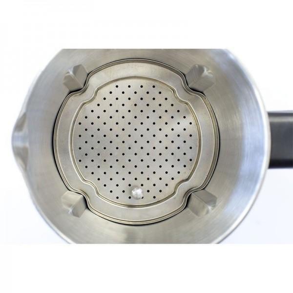 Cecomix Compact Pro. Robot de cocina multifunción que cocina y tritura. 2,8 litros de capacidad, Temperatura hasta 120ºC, 3 velocidades, y temporizador hasta 60 minutos. Diseño mejorado.