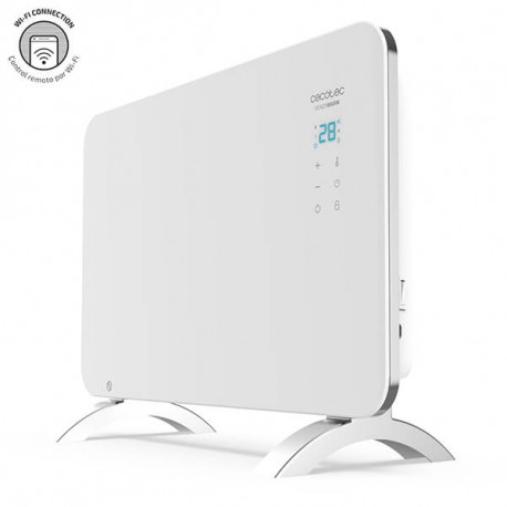 Ready Warm 6650 Crystal Connection - Radiador convector eléctrico Wi-Fi 1000 W