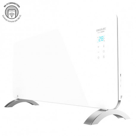 Ready Warm 6750 Crystal Connection - Radiatore convettore elettrico Wi-Fi 2000 W