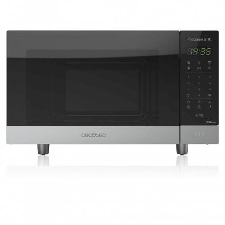 ProClean 6110 - Microondas digital de 23 litros