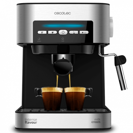 Cafetera express Power Espresso 20 Matic - Cafetera express 20 bares