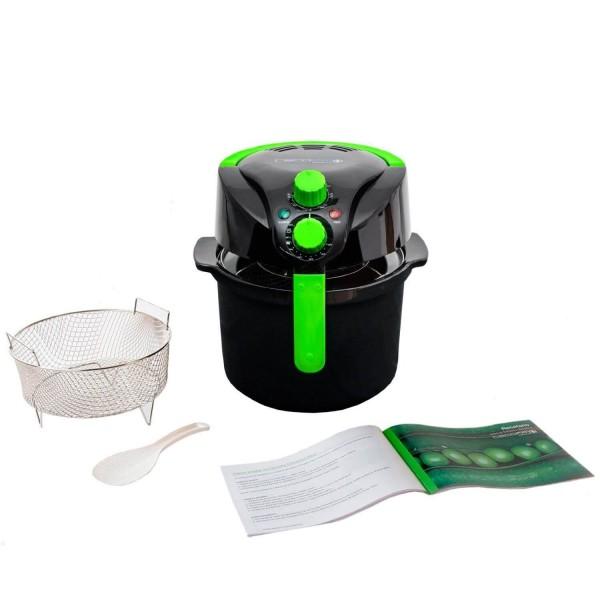 Cecofry Compact Plus. Freidora sin aceite multifunción, cocina dietética. Fríe, tuesta, asa y hornea. Potencia de 1000W. Incluye recetario.