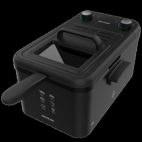 CleanFry Infinity 4000 - Friggitrice elettrica da 4 litri