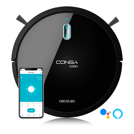 Conga 1090 Connected - Robot aspirapolvere