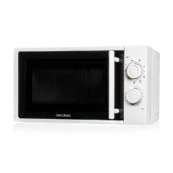 Cecotec Grill. Microondas con grill, input 1200 W, output 700W, grill de 900W, 20 l, 9 niveles.