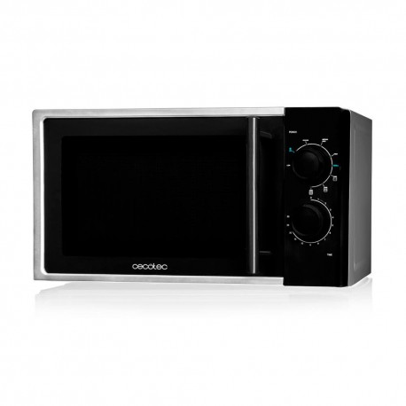 Microwave Silver with Grill -