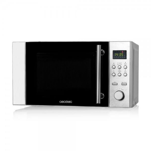 Steel grill microondas con grill digital comprar en cecotec for Bascula cocina carrefour