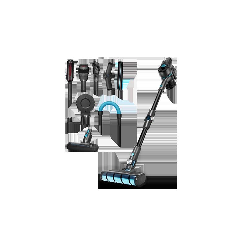 Escoba y de Mano con Motor Digital Brushless Cecotec Aspirador Motor Digital Conga Rockstar 700 X-Treme 430 W y 24 KPA Aspirador sin Cables 3 en 1: Vertical hasta 65 min de Autonom/ía.