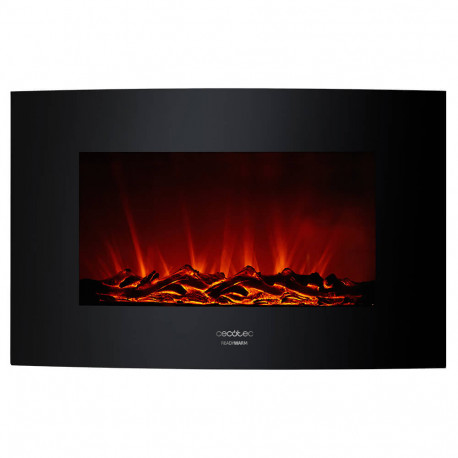 Ready Warm 3500 Curved Flames - Chimenea eléctrica decorativa