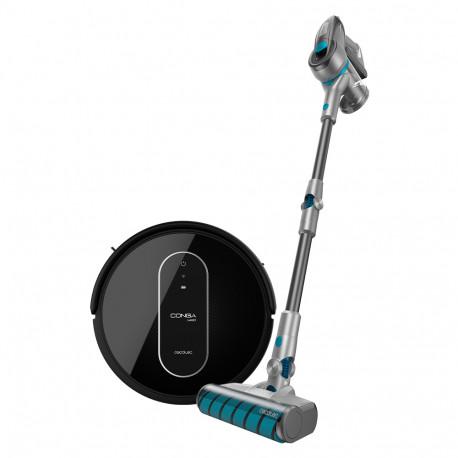 Conga 1490 Impulse +Conga Rockstar 300 X-treme ErgoWet - Robot aspirador y Aspirador sin cable