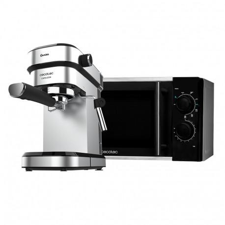 Microwave Silver Grill + Espresso coffee machine Cafelizzia 790 Steel -