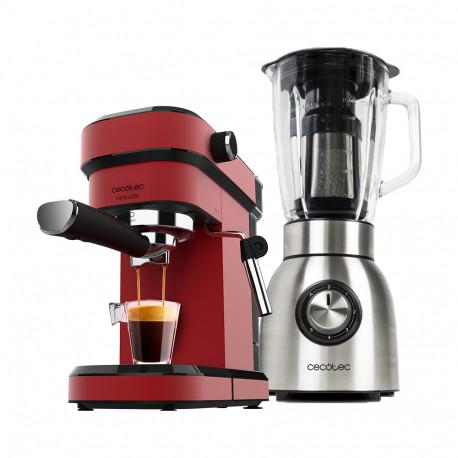 Power titanium 1250 + Cafelizzia 790 Shiny - Batidora de vaso y Cafetera espresso