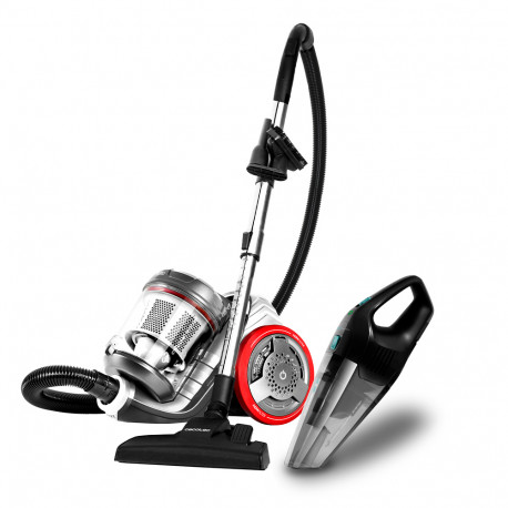 Canister vacuum cleaner Conga eco extreme 3000 + Handheld vacuum cleaner Conga Immortal Extreme 18,4V hand -