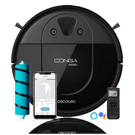 Conga 2690 - Robot aspirador mapeo con cámara