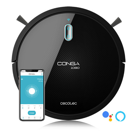 Conga 1090 Connected Force - Robot aspirapolvere