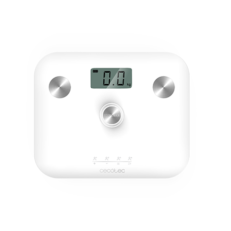 Surface Precision EcoPower 10100 Full Healthy White - Báscula de baño sin pilas