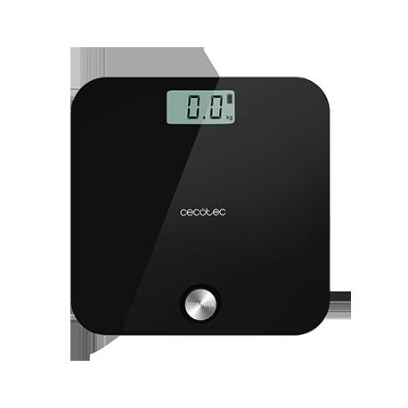 Surface Precision EcoPower 10000 Healthy Black - Báscula de baño sin pilas