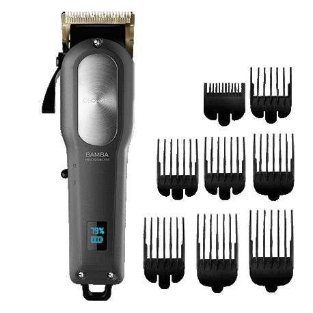 Bamba PrecisionCare Pro Clipper Titanium Go - Máquina de cortar pelo inalámbrica y con cable