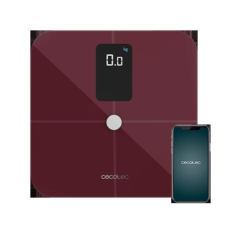 Surface Precision 10400 Smart Healthy Vision Garnet - Báscula bioimpedancia de baño