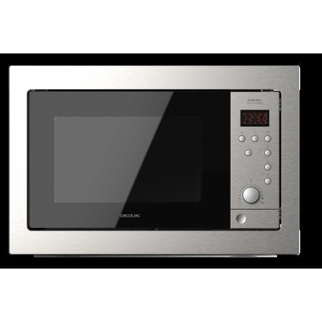 GrandHeat 2500 Built-in SteelBlack - Microondas encastrable digital 25 l