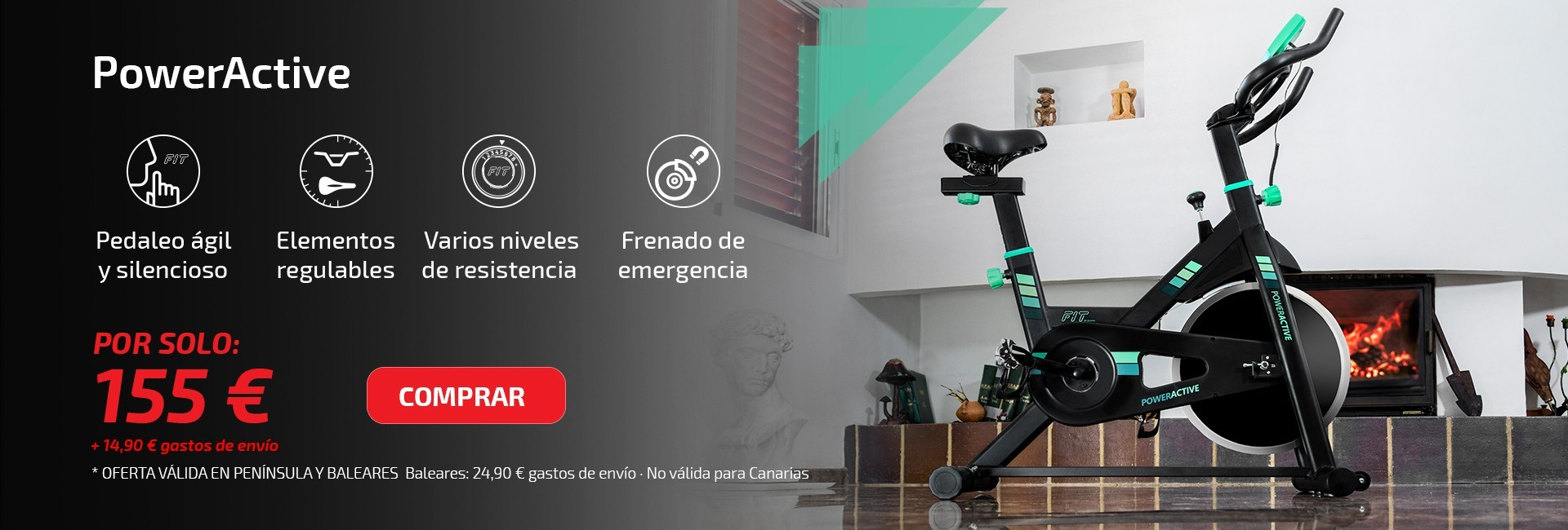 Bicicleta PowerActive